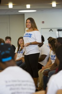 Leadership Speaker at Diversity Student Training